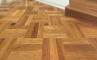 Parquetry flooring trends for 2019 are neutral shades of grey